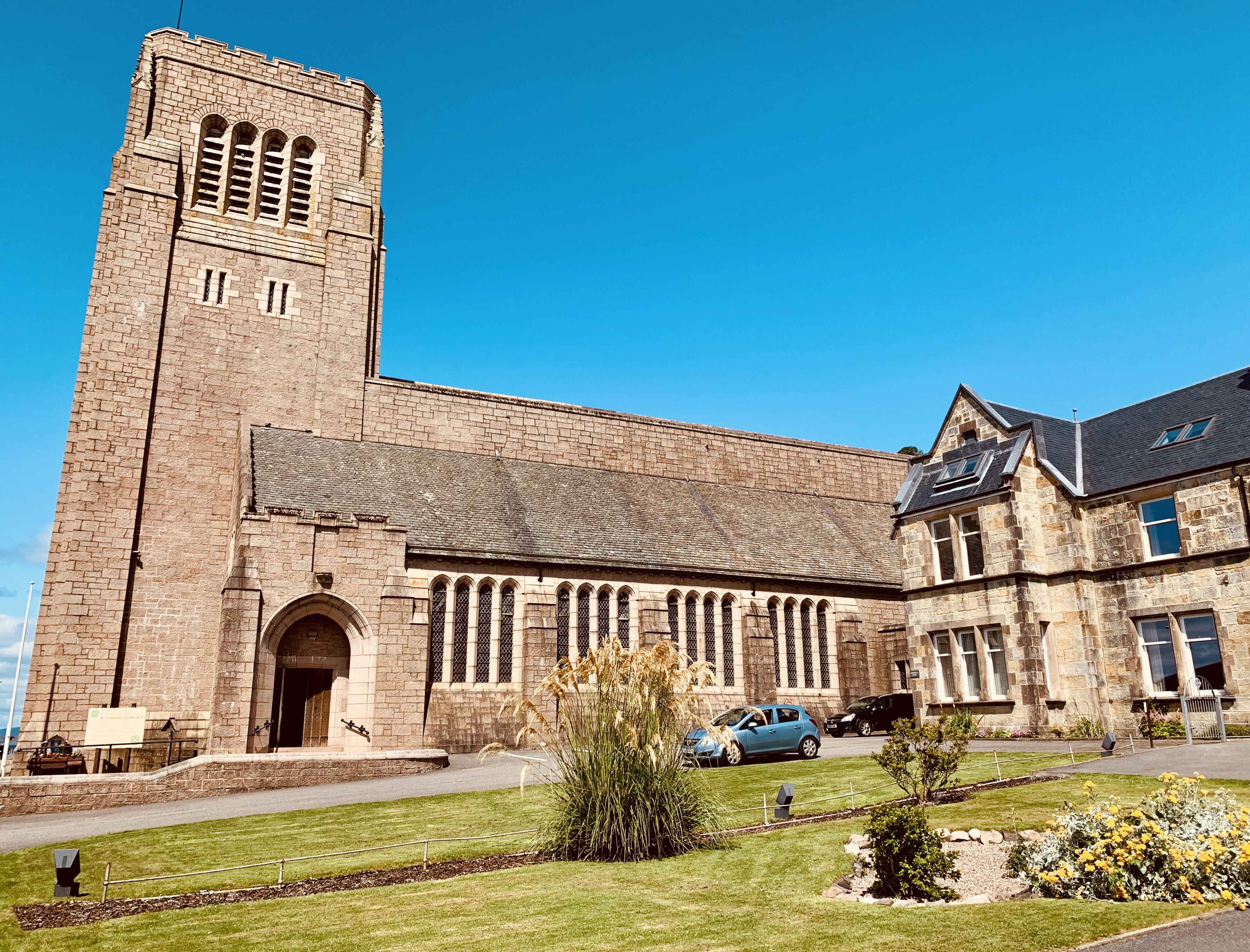 St Columba's Cathedral Oban Scotland.