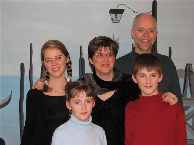 Our family in 2007
