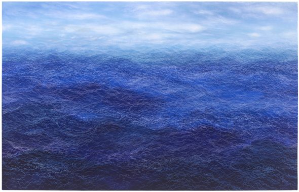 十月的遠航, October Sail, 227 x 145.5 cm, oil on linen, 2017