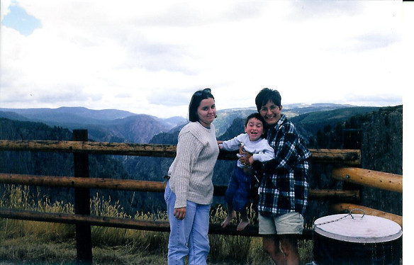 1997 - Me, Dono, Donna at black Canyon