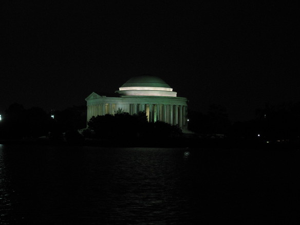 9.9.09 - Jefferson Memorial, taken from the FDR Memorial across the tidal basin