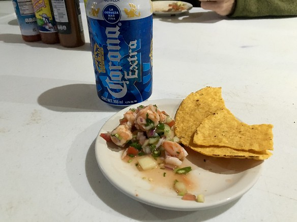 Happy Hour ceviche