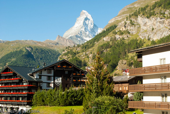 ZermattView of Matterhorn from my hotel room balcony