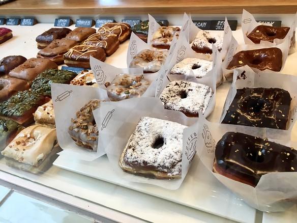 Belgium Day 4 / AntwerpHoeked Doughnuts