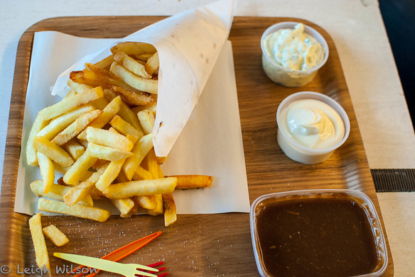 Belgium Day 4 / AntwerpChips Frites