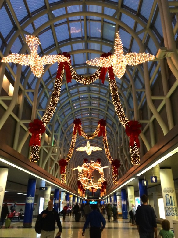 O'Hare decked out for the holidays
