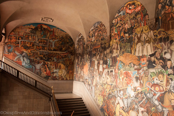 9/11 National PalaceDiego Rivera murals