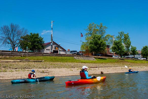 Kayaking the Muskingum River with Marietta Adventure Company
