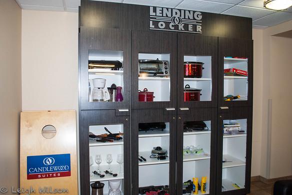 Candlewood Suites lending lockerOlathe, KS