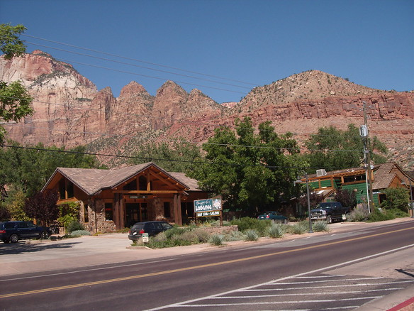 Flanigan's in Springdale, UT - awesome place to stay!(Photo Credit:  Amy)