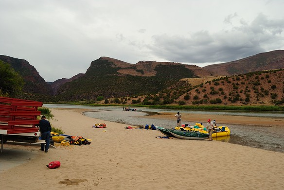 9/11 - my birthday and Day 1 of a 4 day raft trip on the Green River through Gates of Lodore with OARShttp://www.oars.com/colorado/greenriverrafting.html