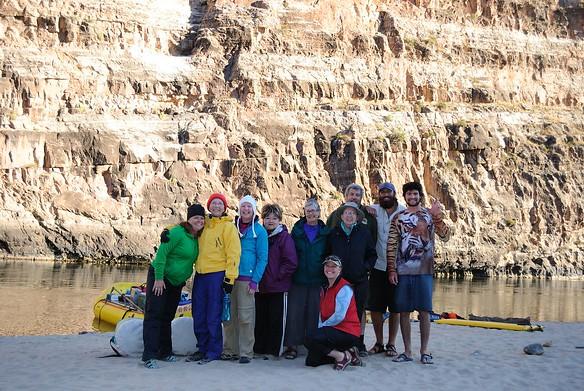 Group photo - Leigh, Irene, Kathleen, Charlotte, Pam, Sadie, Sue, Marc, Scotty and Charlie