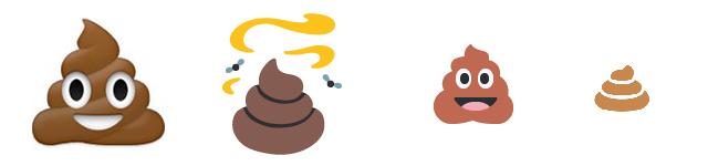 Wat de f#k betekent die lachende drol emoji nu eigenlijk?? | poep-emoji-2