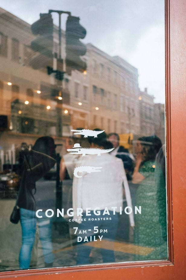 congregation coffee in new orleans