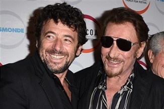 Patrick Bruel and Claude Lelouch