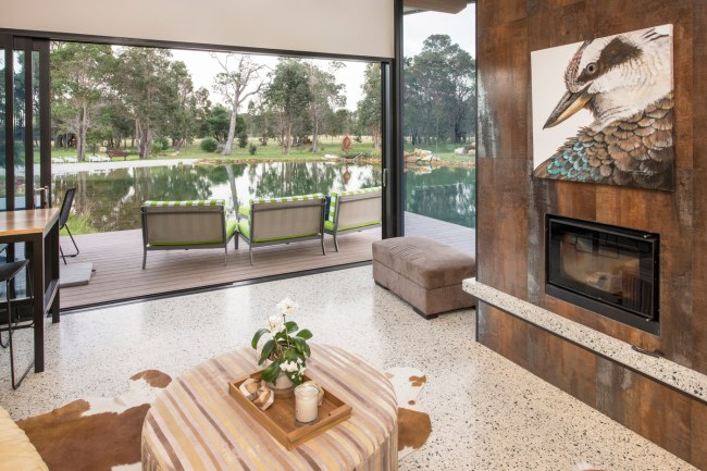 10 builder margaret river guest wing fireplace