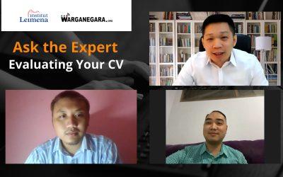 Webinar Ask The Expert, Fresh Graduate Development Tool