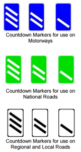 information road signs