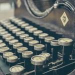 Poet typewriter. (Public domain photo.)