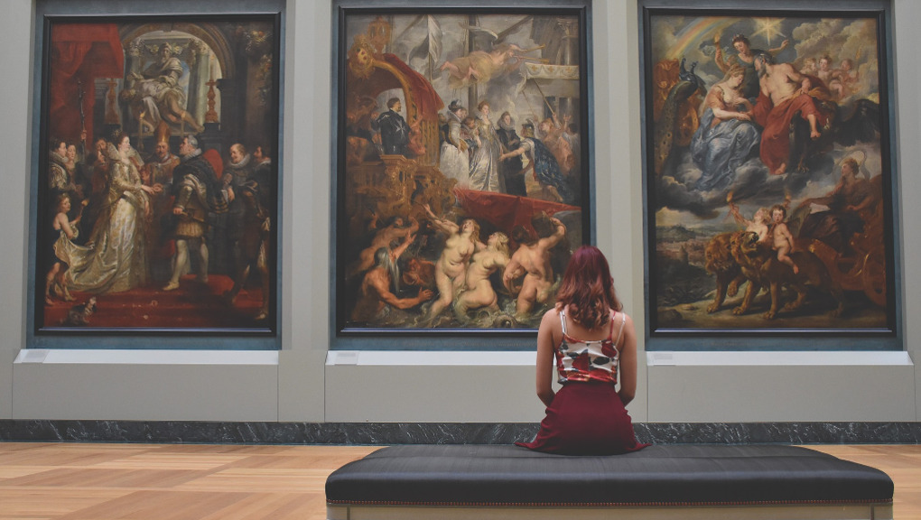 Imagining at a museum