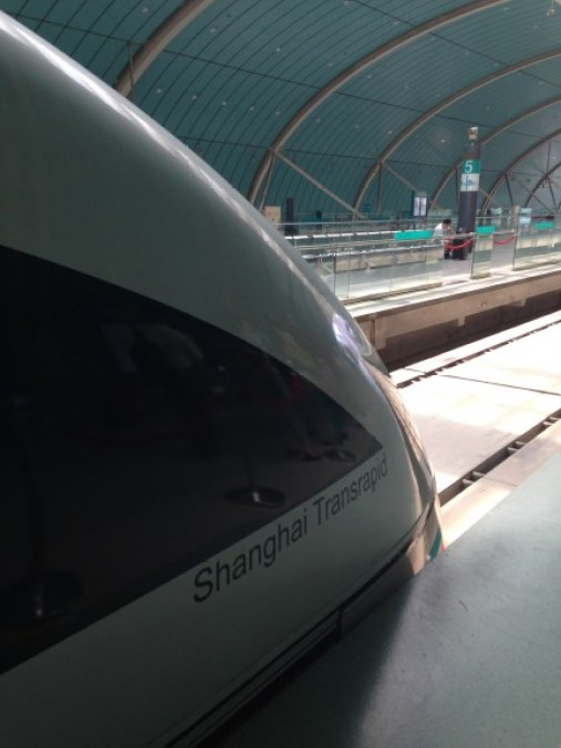 Transportation in Shanghai is incredibly fast and efficient. Photo: Ana Ribeiro