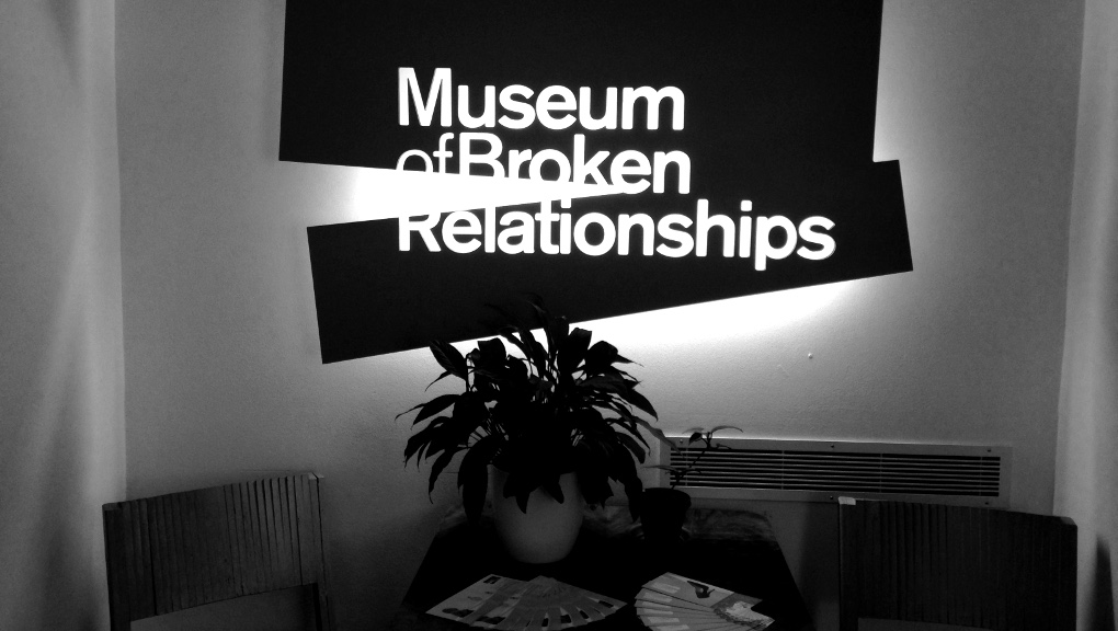 The Museum of Broken Relationships in Zagreb. Photo: Ana Ribeiro