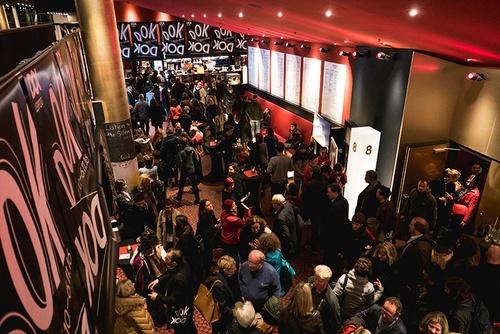 Leipzig's CineStar foyer at the festival opening 2016. (Photo: Susann Jehnichen)