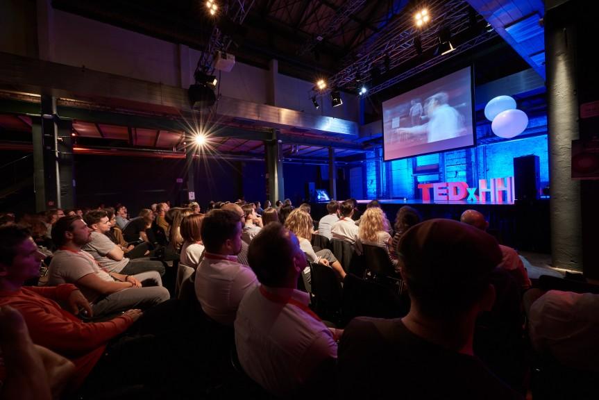 The audience at TEDxHHL, Werk 2, 19 October, 2017. (Photo © Daniel Reiche: https://www.danielreiche.de)