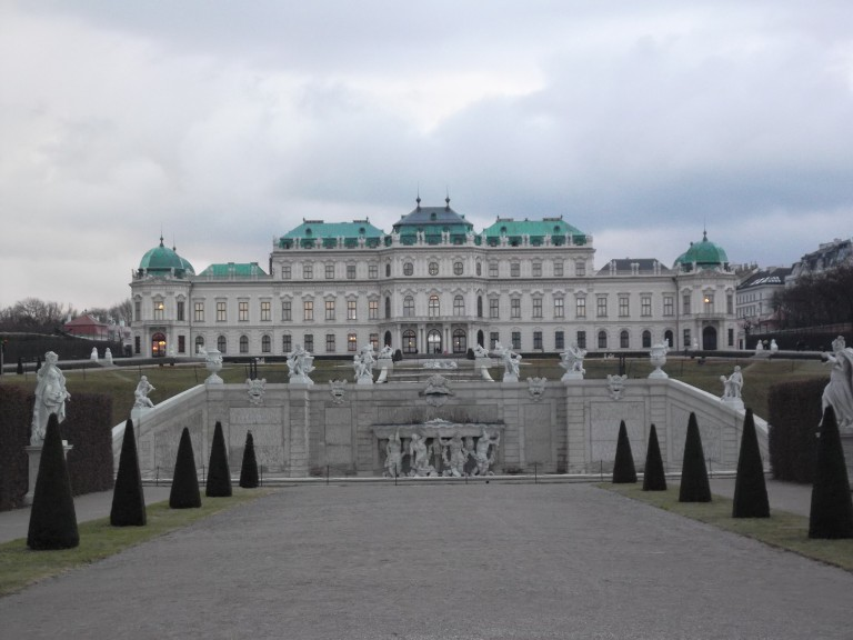Belvedere Palace, Vienna (Photo: Ana Ribeiro)