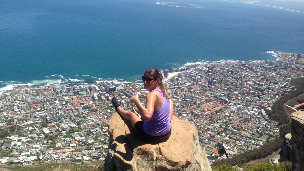Hiking Lions Head in Cape Town, South Africa. (Photo courtesy of Claudi, onclaudinine.com)