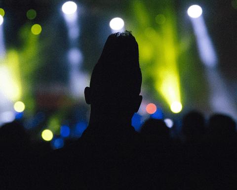 The Jesus and Mary Chain concert. Photo © Erik Braga