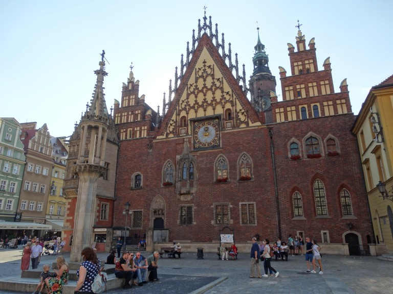 Wrocław Town Hall in the Rynek. (Photo: Chrissy Orlowski)