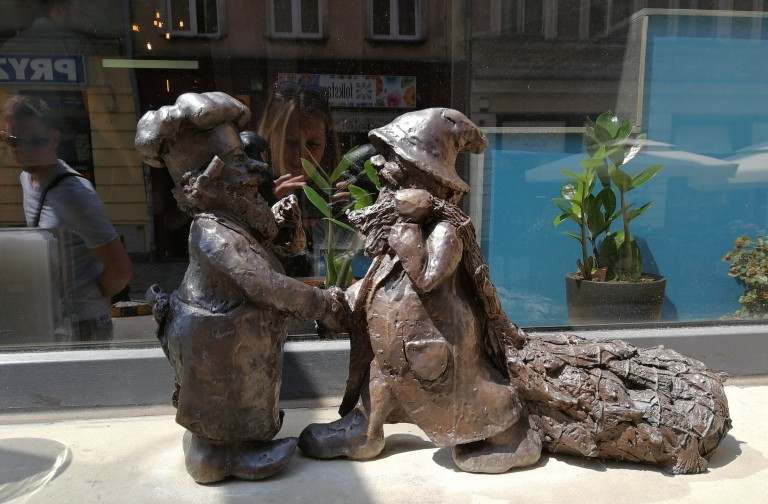 The gnomes all over Wrocław have their own stories to tell. (Photo: Chrissy Orlowski)
