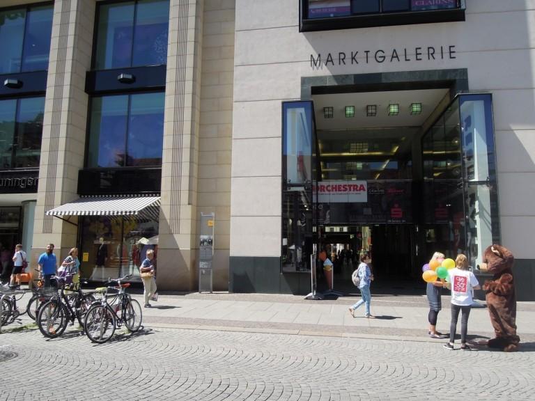 Leipzig city center. (Photo courtesy of Hannah Sapunor-Davis)