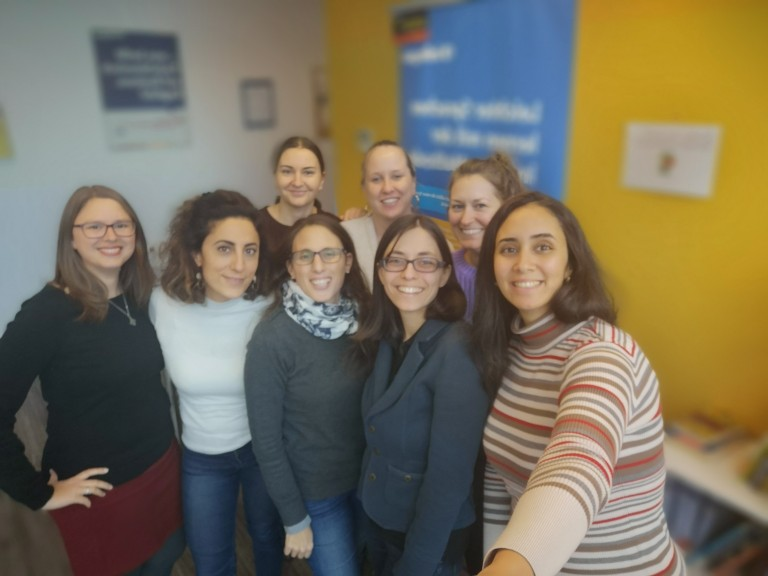 Team inlingua. (Photo courtesy of Andréanne Roy)