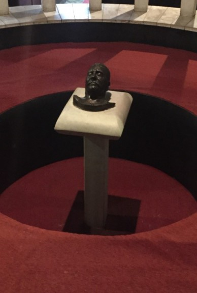 Stalin's mask at his Georgian museum