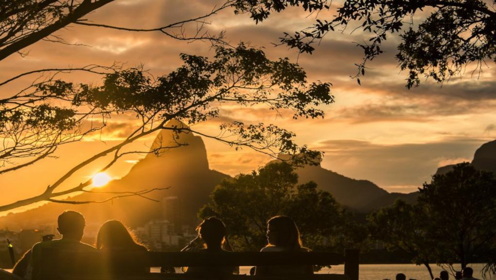 Joao gilberto and Rio's Sugar Loaf Mountain