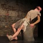 Felix Kerkhoff compels as Philoctetes. Image by Sira Bitan, courtesy of ETL.