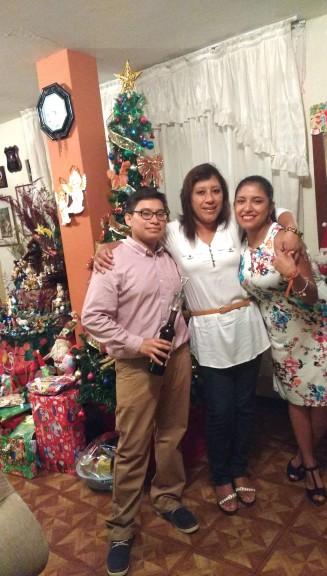 Peru christmas fresia