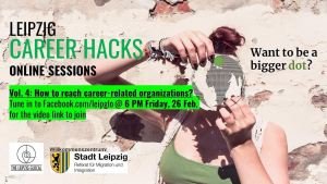 Leipzig Career Hacks vol. 4: How to reach career-related organizations with Stadt Leipzig's Welcome Center