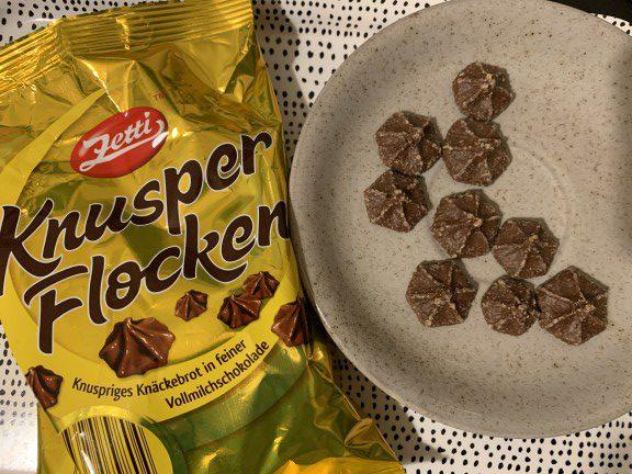 Zetti Knusperflocken with wrapper