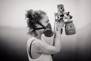 Dorothee Louise Recker 2019 performance at She BAM!, photo: Enrico Meyer