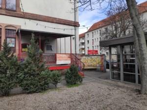 Kinobar Prager Frühling, outside, Leipzig