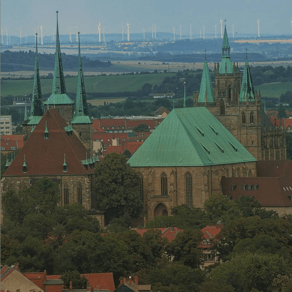 Erfurt from above