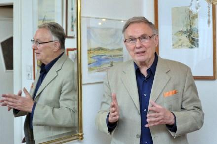 Im Portraet: Prof. Dr. Rudolf Skoda, unter anderem Chefarchitekt des Gewandhauses zu Leipzig. Foto: Volkmar Heinz
