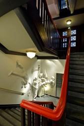 Zum Kabarett Akademixer geht es hinab in den Keller ... Foto: Volkmar Heinz / volkmar@heinz-report.de