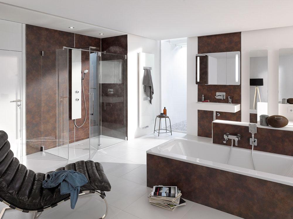 Wandverkleidung Bad Ohne Fliesen   Planeo Designwall Aqua ...