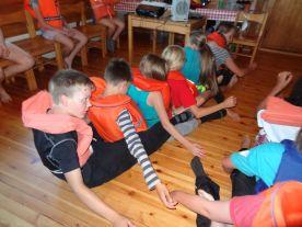 Kuivaharjoittelussa opitaan miten liikutaan ryhmänä