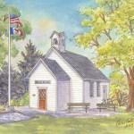 Historic school house restored in Woodbine, IA