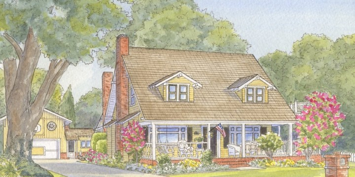 Creating House Portraits in Arcadia, California